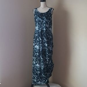 Soma maxi side tie dress M